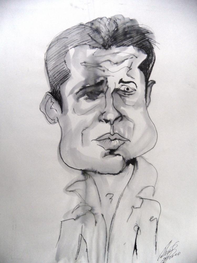Brad Pitt by kathy